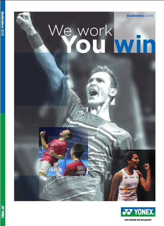 Front Cover 2018 Badminton Brochure